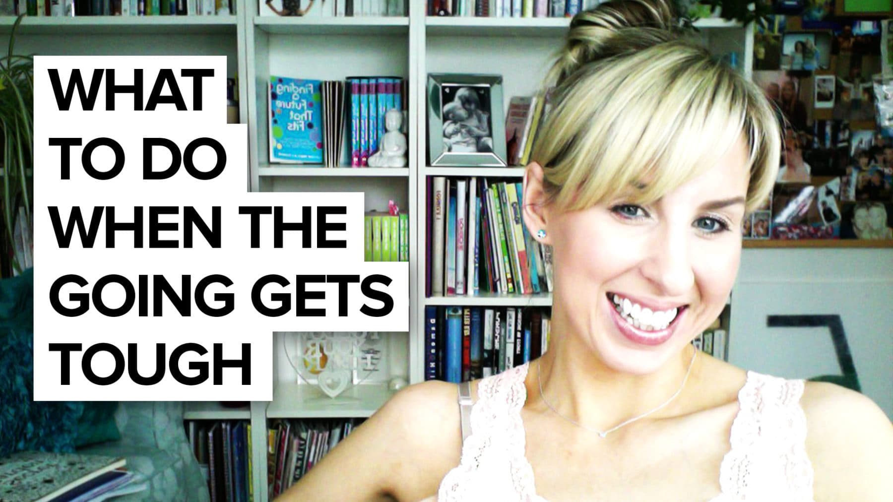 What to do when you feel like giving up!