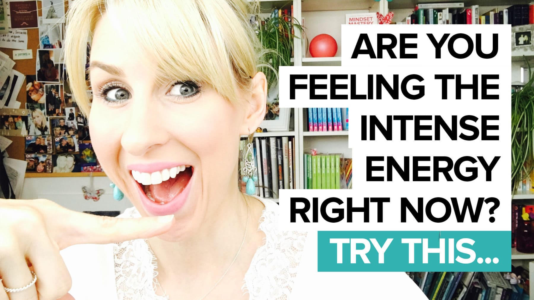 Are you feeling the intense energy right now? If so, try this…