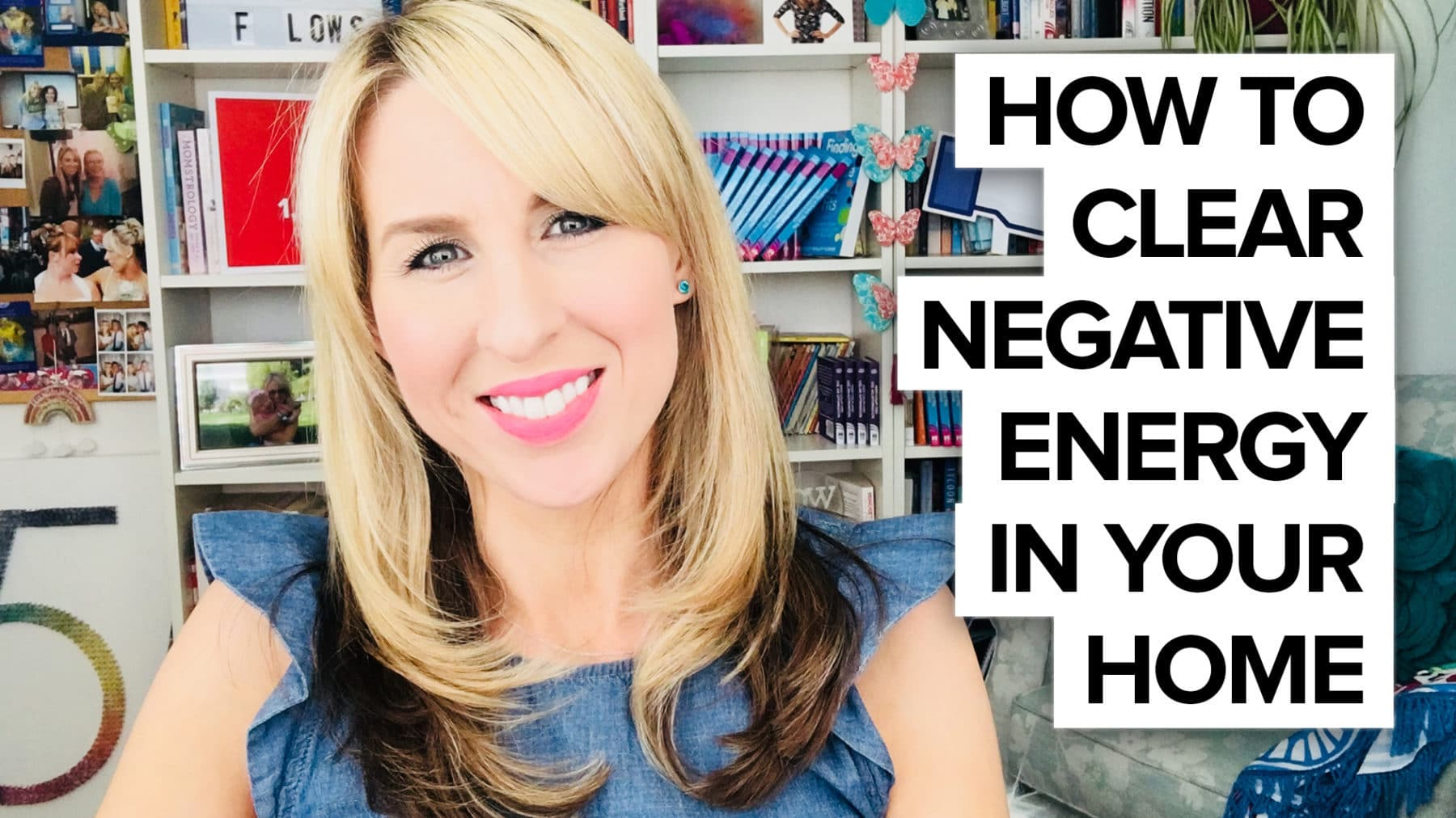 How to clear negative energy in your home