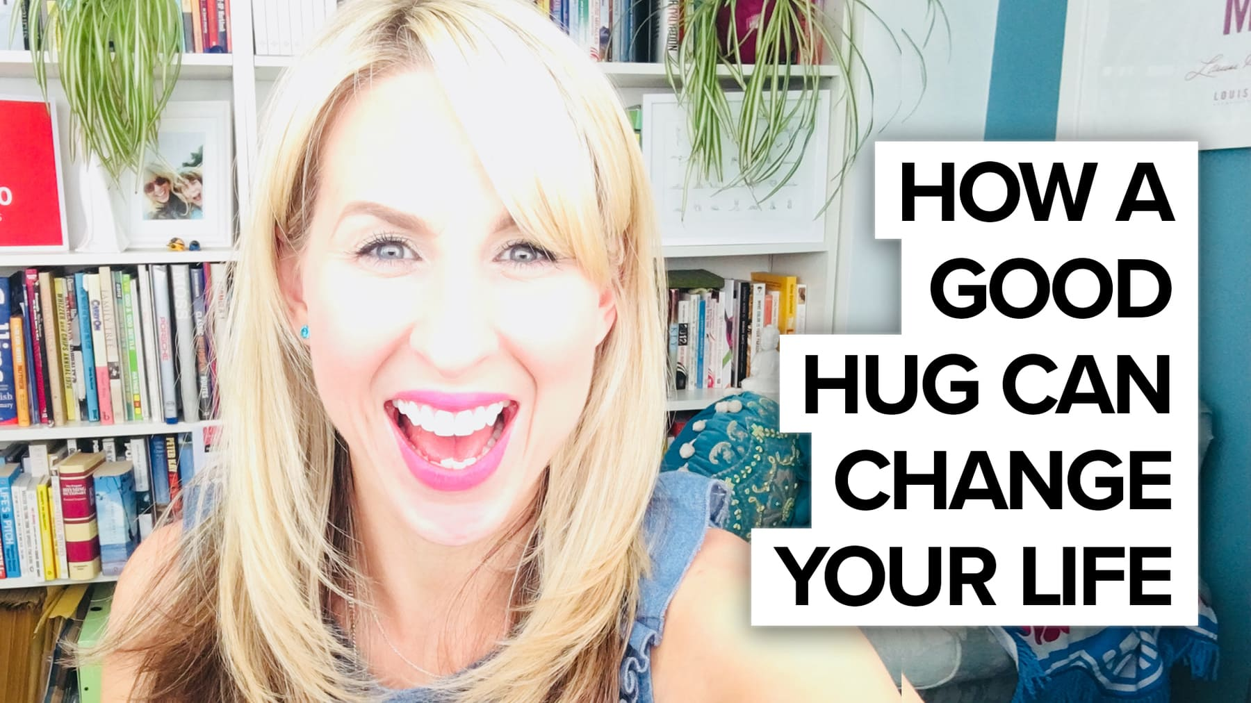 How a hug can change your day…