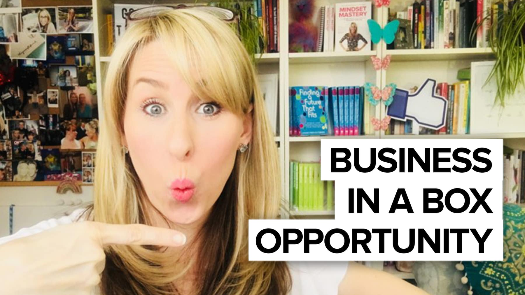 Business in a box opportunity – come into biz with me!
