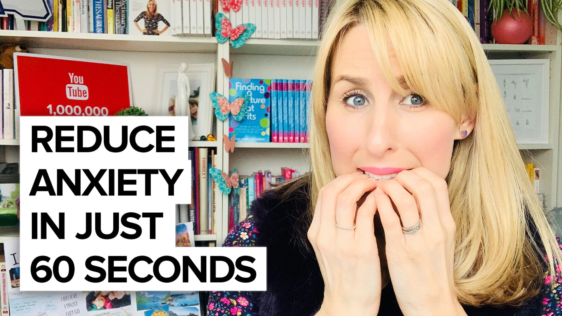 How to reduce anxiety in under 60 seconds…
